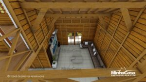 Minha casa pré fabricada modelo Minas Gerais 09
