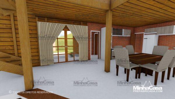 Minha casa pré fabricada modelo Minas Gerais 11