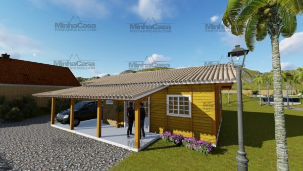 Minha casa pré fabricada modelo Navegantes 02