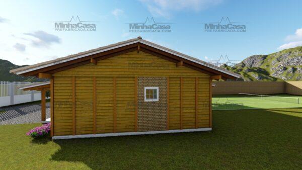 Minha casa pré fabricada modelo Navegantes 04