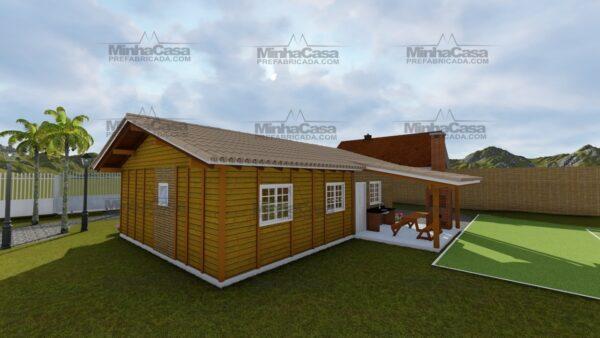 Minha casa pré fabricada modelo Navegantes 05