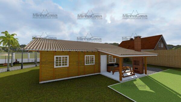 Minha casa pré fabricada modelo Navegantes 06