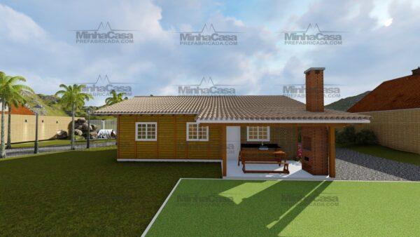 Minha casa pré fabricada modelo Navegantes 07