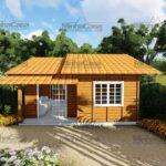 Minha casa pré fabricada modelo Palhoça 04