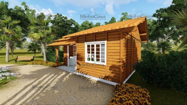 Minha casa pré fabricada modelo Palhoça 06