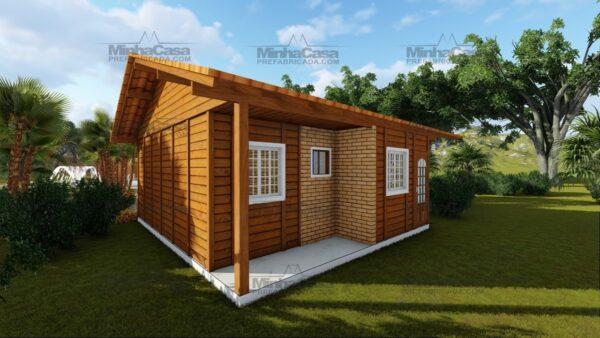 Minha casa pré fabricada modelo Palhoça 07