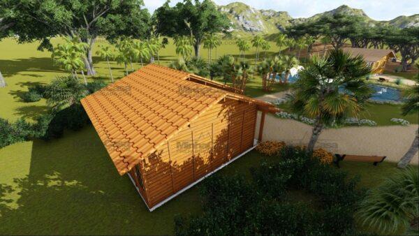 Minha casa pré fabricada modelo Palhoça 09