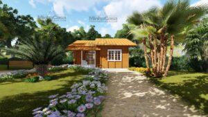 Minha casa pré fabricada modelo Palhoça 10