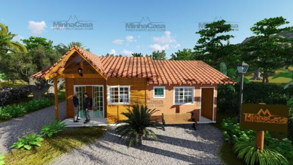 Minha casa pré fabricada modelo Paranaguá 01