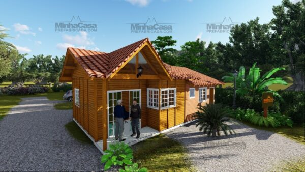 Minha casa pré fabricada modelo Paranaguá 02