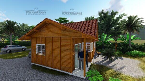 Minha casa pré fabricada modelo Paranaguá 03
