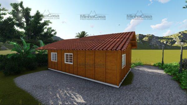 Minha casa pré fabricada modelo Paranaguá 04