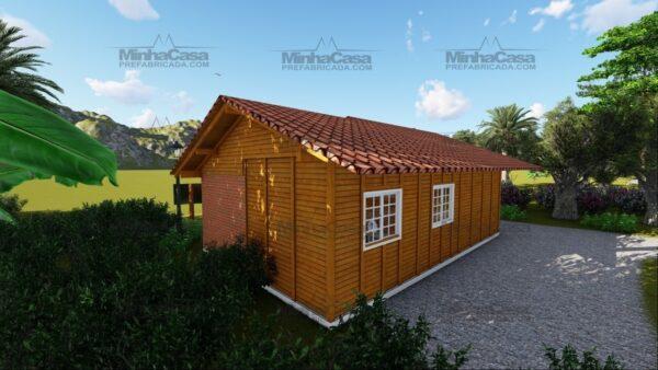 Minha casa pré fabricada modelo Paranaguá 05