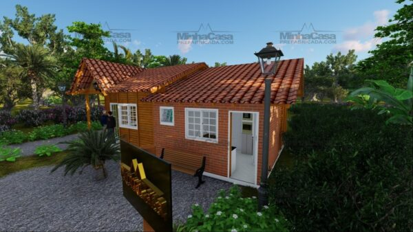 Minha casa pré fabricada modelo Paranaguá 06