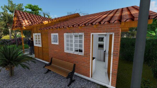 Minha casa pré fabricada modelo Paranaguá 07