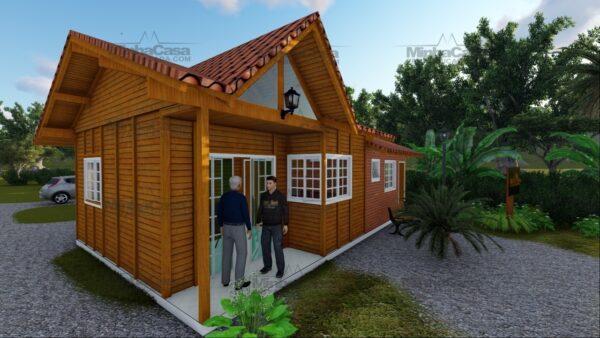 Minha casa pré fabricada modelo Paranaguá 08
