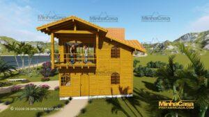 Minha casa pré fabricada modelo Paranapanema 01