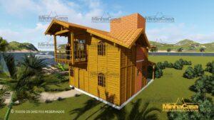 Minha casa pré fabricada modelo Paranapanema 02