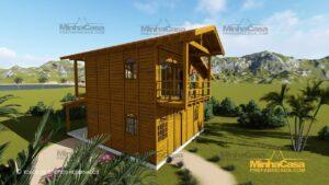 Minha casa pré fabricada modelo Paranapanema 03
