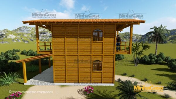 Minha casa pré fabricada modelo Paranapanema 04