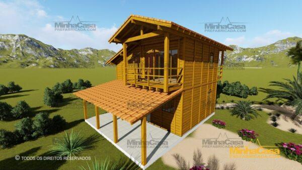 Minha casa pré fabricada modelo Paranapanema 05