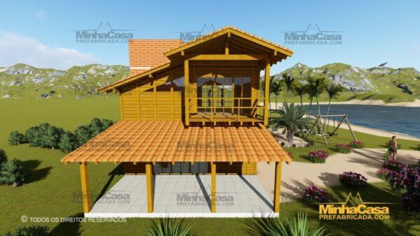 Minha casa pré fabricada modelo Paranapanema 06