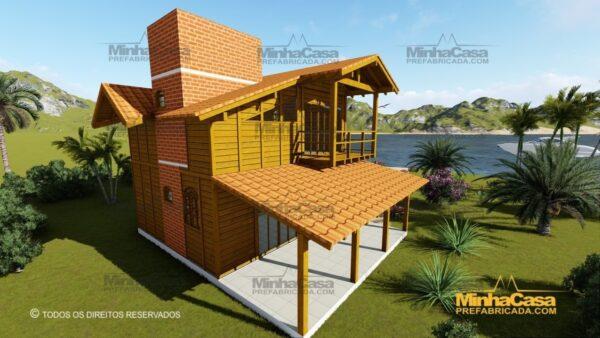 Minha casa pré fabricada modelo Paranapanema 07