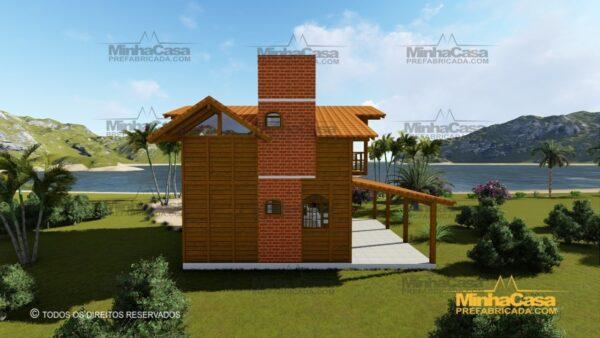 Minha casa pré fabricada modelo Paranapanema 08