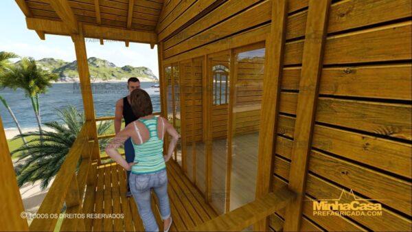 Minha casa pré fabricada modelo Paranapanema 10