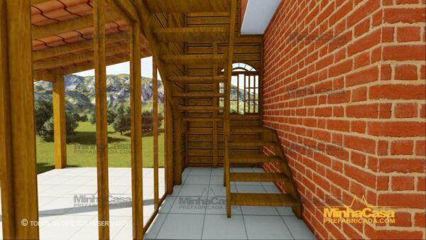 Minha casa pré fabricada modelo Paranapanema 17