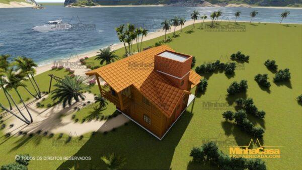 Minha casa pré fabricada modelo Paranapanema 20