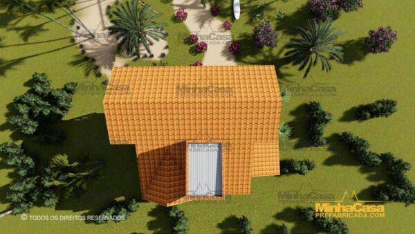 Minha casa pré fabricada modelo Paranapanema 21