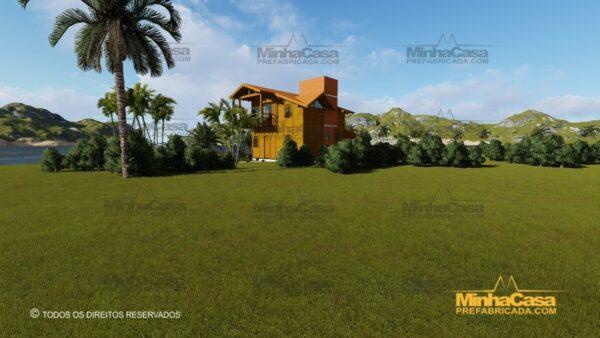 Minha casa pré fabricada modelo Paranapanema 22