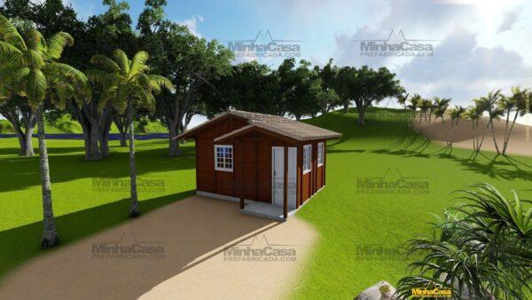 Minha casa pré fabricada modelo Penha 01