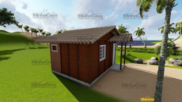 Minha casa pré fabricada modelo Penha 02