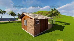 Minha casa pré fabricada modelo Penha 03