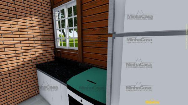 Minha casa pré fabricada modelo Penha 06