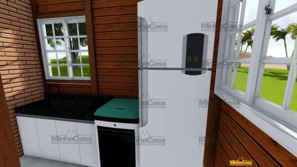 Minha casa pré fabricada modelo Penha 07