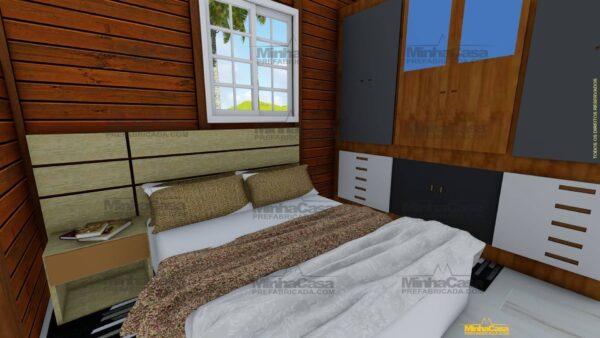 Minha casa pré fabricada modelo Penha 09