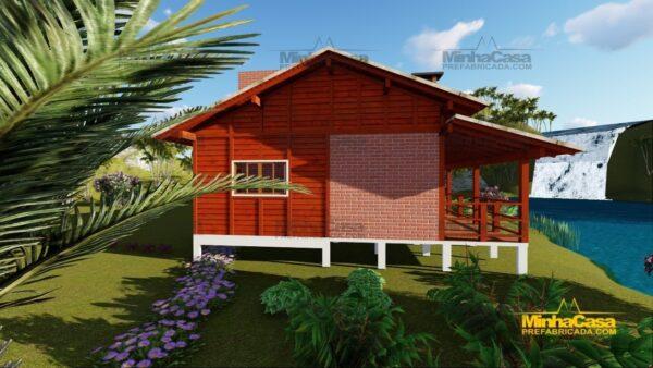Minha casa pré fabricada modelo Piçarras 05