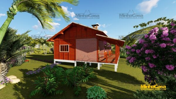 Minha casa pré fabricada modelo Piçarras 06