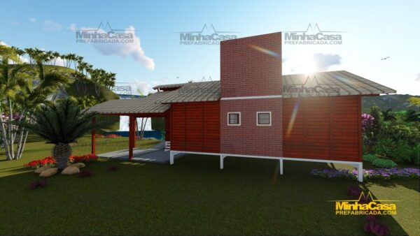 Minha casa pré fabricada modelo Piçarras 07