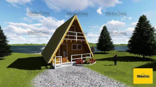Minha casa pré fabricada modelo Pomerode 01