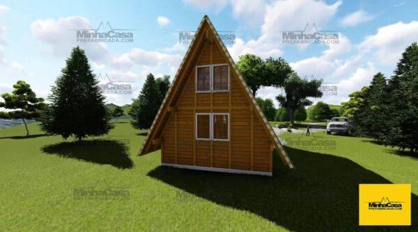 Minha casa pré fabricada modelo Pomerode 02
