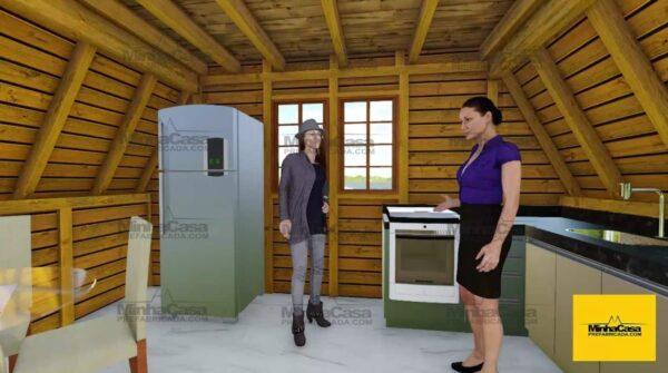 Minha casa pré fabricada modelo Pomerode 04