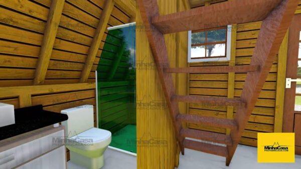 Minha casa pré fabricada modelo Pomerode 05