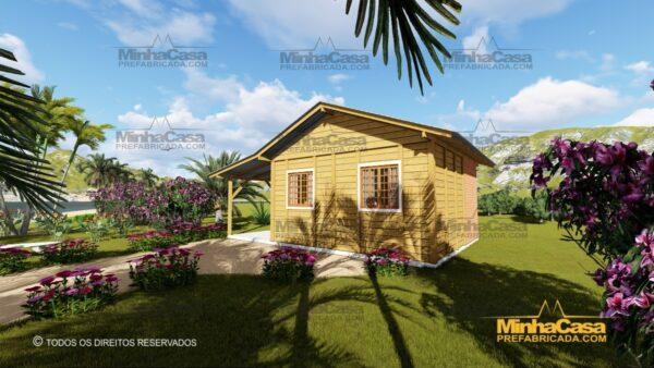Minha casa pré fabricada modelo Pop 1.0 06