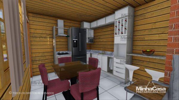 Minha casa pré fabricada modelo Pop 1.1 08