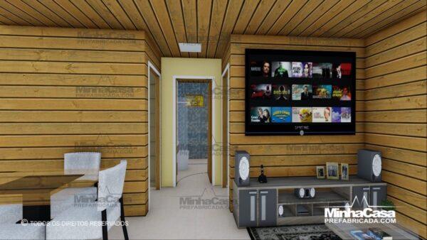 Minha casa pré fabricada modelo Pop 2.0 06