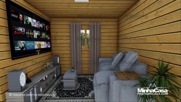 Minha casa pré fabricada modelo Pop 2.0 09